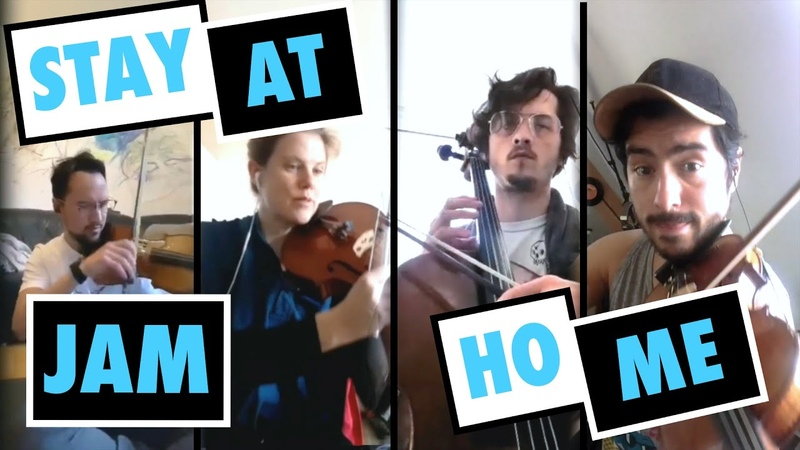 Stay At Home Jam 1⎮ Paranormal String Quartet ⎮ ULD
