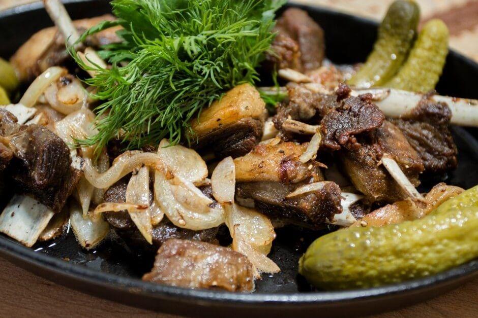 Каурдак из говядины рецепт с фото быстровозводимый