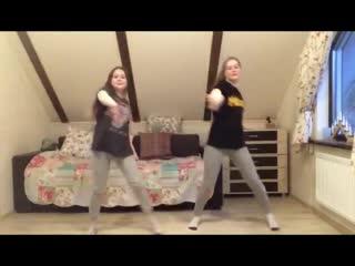 Переменка здоровья. Саша Попова (7Г) и Соня Попова (5А)