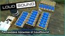 Посылка от Loud Sound распаковка Питание Уси Avatar