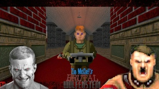 Brutal Wolfenstein 3D V5.0 Episode 1 [100% EVERYTHING] 1440p 60fps