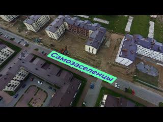 В санкт-петербурге обманутые дольщики заселились в недостроенный дом