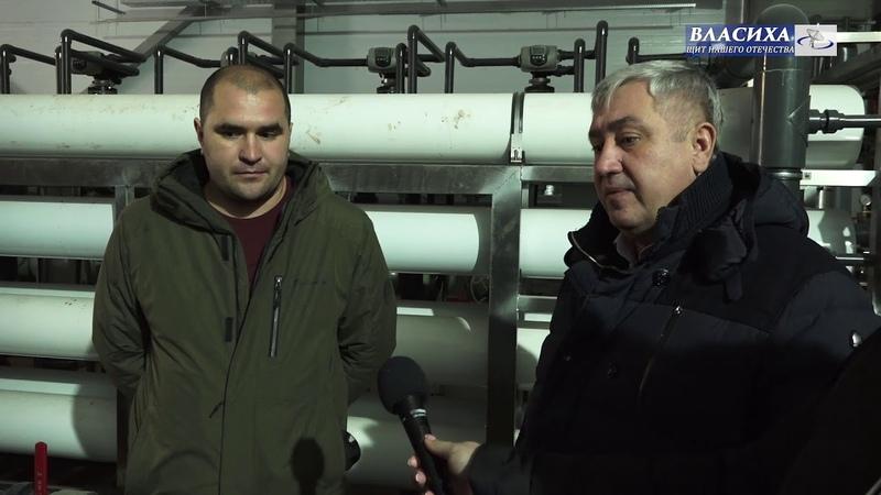 Глава Власихи А. Алябьев проконтролировал ход работ на ВЗУ в мкр. Заозерный