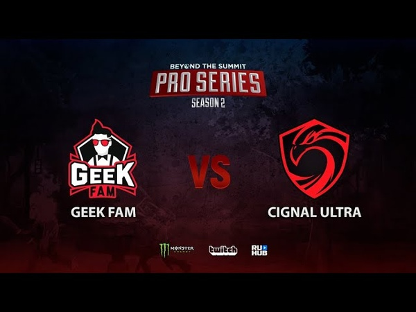 Geek Fam vs Cignal Ultra BTS Pro Series Season 2 SEA bo2 game 1 Maelstorm Jam