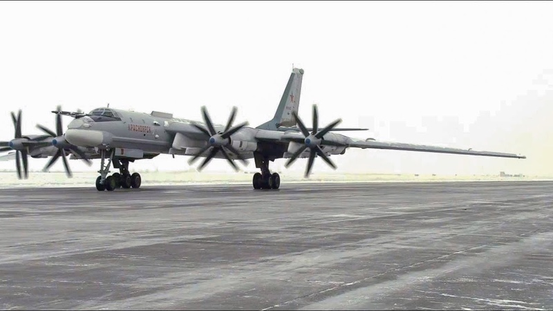 Полеты Ту-95МС в условиях низких температур