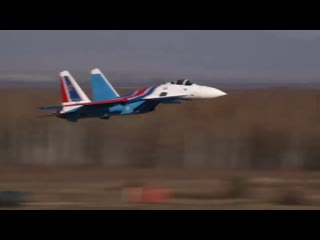 Пилотажная группа Русские витязи получила новые истребители Су-35С