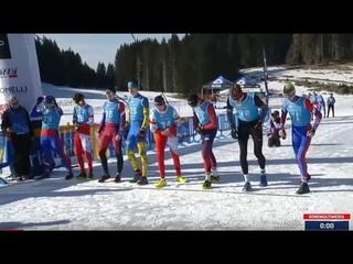 Азиаго. Чемпион мира по зимнему триатлону 2020. Юниоры