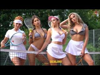 Busty british girls melissa debling, sophie rose, robyn james, lana parker