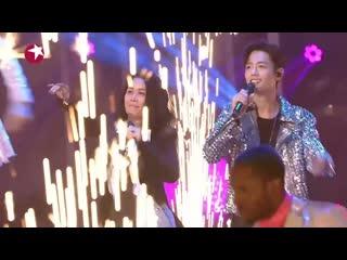 Сяо Чжань новогодние выступление