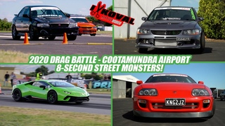 2020 Drag Battle Overview - TT Lambo, MR2, 1000hp Evos, WRXs, LS RX-7, 1300hp Supra and more!