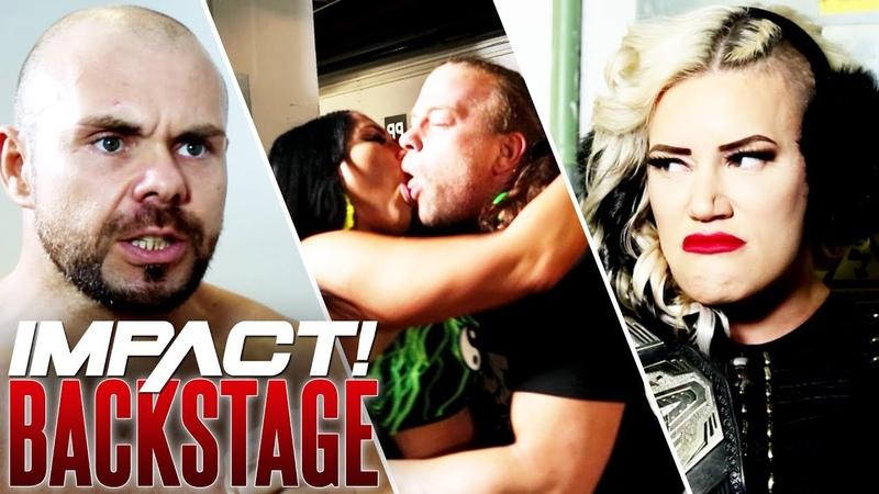 My1 RVD Attacks Joey Ryan Taya Strikes Out Elgin's Ominous Warning IMPACT Wrestling BACKSTAGE