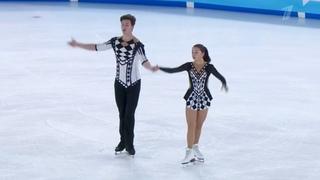 Диана Мухаметзянова / Илья Миронов. Юношеские Зимние Олимпийские Игры 2020 Произвольная программа