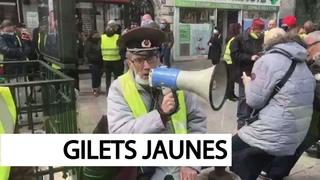 Gilets Jaunes interdits d'Odéon par Lallement
