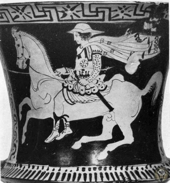 Беотийская конница как один из символов Фив