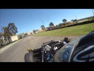 Monash Motorsport FSAE M11. Трасса Silhouette Karts.