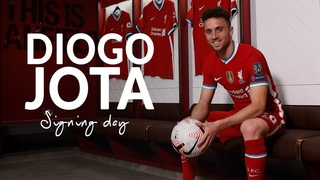 Signing Day: Behind the scenes on Diogo Jota's first day at Liverpool