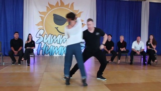 Kyle Redd & Emeline Rochefeuille - Summer Hummer 2019 - Champions Strictly Swing