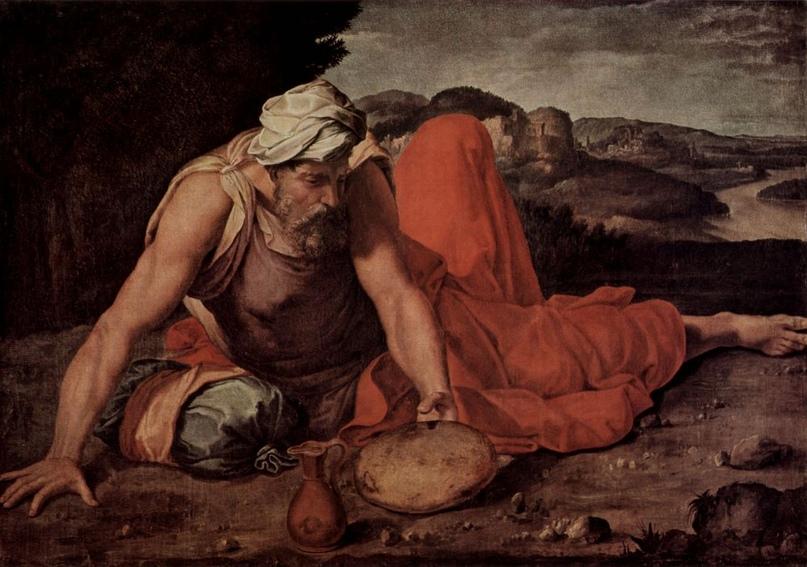 """Даниэле да Вольтерра """"Пророк Илия"""", 1550"""