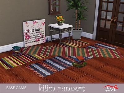 Ковры и декор на пол для The Sims 4 со ссылками для скачивания