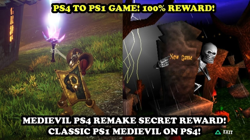 MediEvil 1998 in MediEvil PS4 Remake [Lost Souls 100 Reward!]