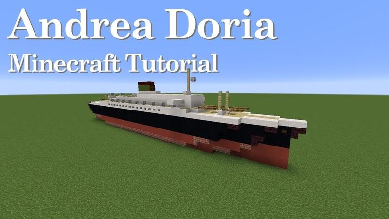 SS Andrea Doria Minecraft Tutorial 1 5 Scale