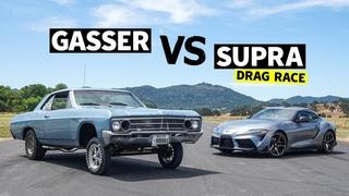 2020 Toyota Supra vs. 1966 Buick Gasser // This vs That