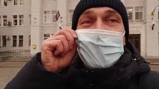 LIVE Бердянск Митинг местных предпринимателей в поддержку киевских коллег