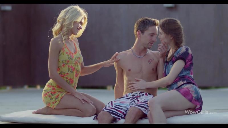 Caroline, Izzy Delphine ( Lamour Idéal) 2018, Treesome, All sex, Blowjob,