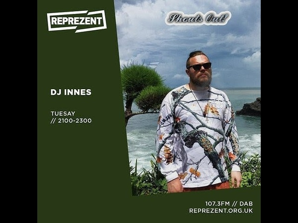 Reprezent Radio - DJ Innes 24th September 2019 ( juke / footwork mix )