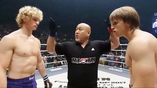 Karl Albrektsson (Sweden) vs Teodoras Aukstuolis (Lithuania)   MMA Fight HD