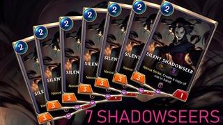 7 SHADOWSEERS? Zed + Lucian Deck   Death Mark   Legends of Runeterra