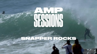 A Pumping Swell At The Most Crowded Wave in the World | Amp Sessions: Snapper Rocks