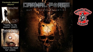 Carnal Forge Gun To Mouth Salvation (Full Album - 2019)