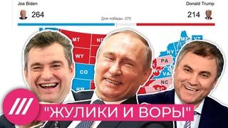Срамота по-американски. Как российская власть реагирует на выборы в США // Нюансы с Таратутой