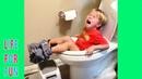 Я РЖАЛ ДО СЛЕЗ😂 ПРИКОЛЫ / Смешные Видео 2021 / Самые смешные смутьяны дети делают все что застряли