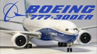 Сборка масштабной модели BOEING 777-300ER. Масштаб 1/144.