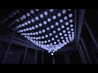 Световая инсталляция фестиваль INTERVALS в Нижнем