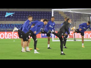 «Зенит» в Риме: открытая тренировка перед матчем с «Лацио»
