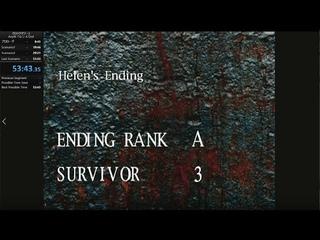 【クロックタワー2】 Helen Any% Ending A 53:43【RTA】