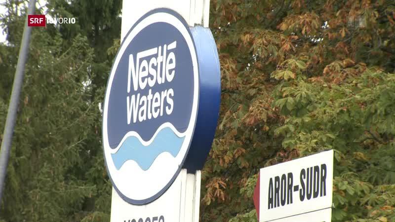 Wegen Nestlé sitzt Vittel bald auf dem Trockenen