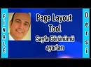 📄 Finale 2011 Page Layout Tool Sayfa düzeni Güzelleştirme sayfa ayarları sayfa görünüşü Nota Yazım