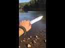 Охотничий нож и походная повязка