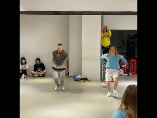 Dancehall class   choreography