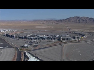 Chopper camera - Las Vegas - Round 30 - 2020 NASCAR Cup Series