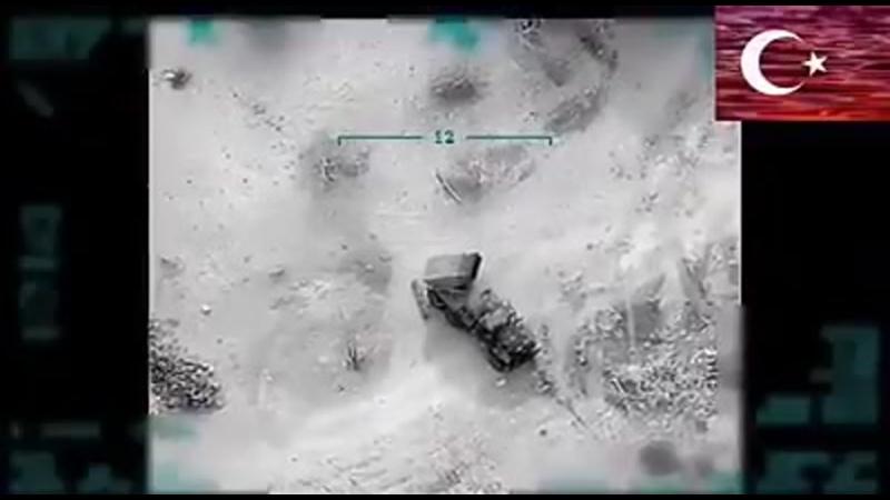 Турецькі безпілотники цілком вільно поводяться у сирійському небі і завдають ударів по обєктах САА