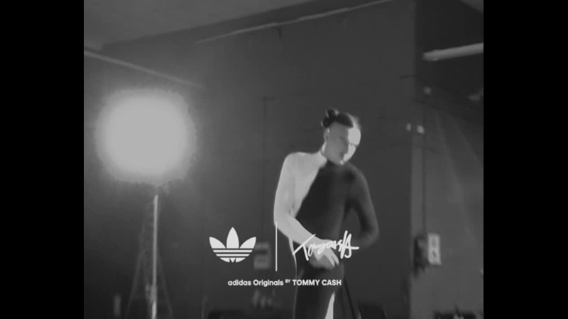 Adidas Superstar Customized by Tommy Cash campaign backstage