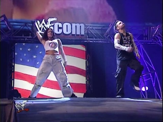 Day In History_ 17th September, 2001 - Jeff Hardy with Lita vs Lance Storm with Ivory