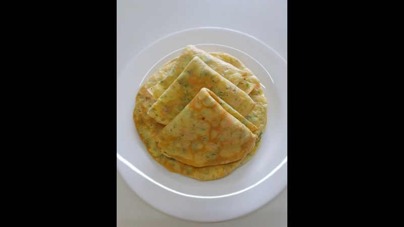 Vegetable Pancake Easy and Quick Breakfast Recipe Healthy Breakfast Recipe