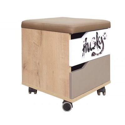 «Хаски» № 52 тумба с ящиком и мягким элементом