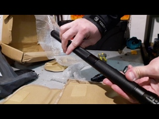 Распаковка лопаты (походная-саперная)